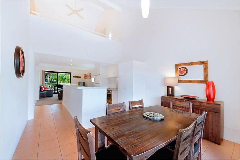 Open plan living area.  Photo Courtesy of Prime Property GC.