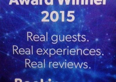 Award Winner Booking.com 2015
