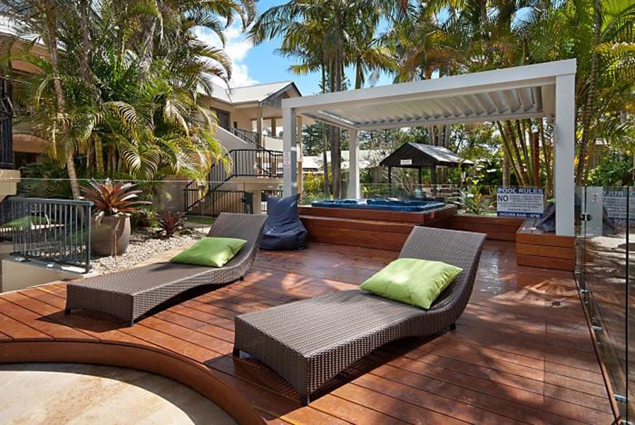 Outrigger Bay Apartments - Heated Spa